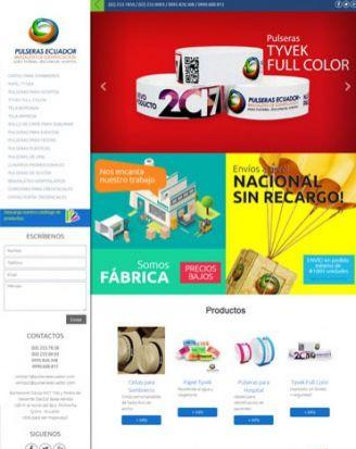 Pulseras Ecuador