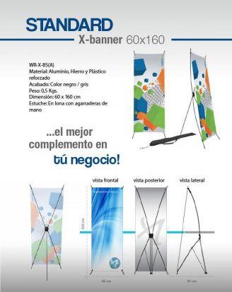 Standard x-banner