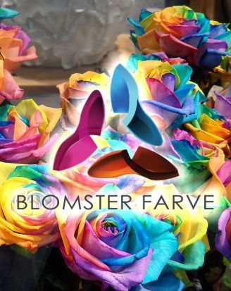 Blomster farve